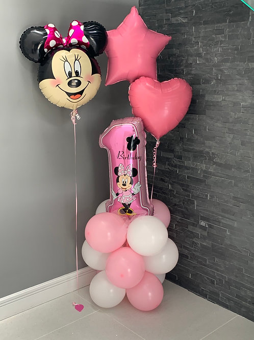 Minnie Mouse 1st Birthday package