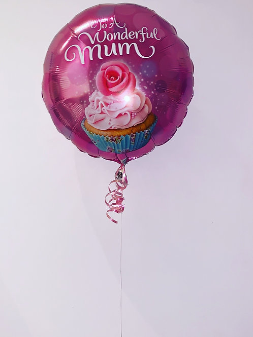 To A Wonderful Mum Pink Balloon