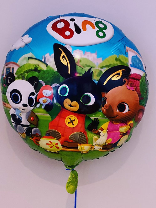 "Bing 18"" Blue Balloon"