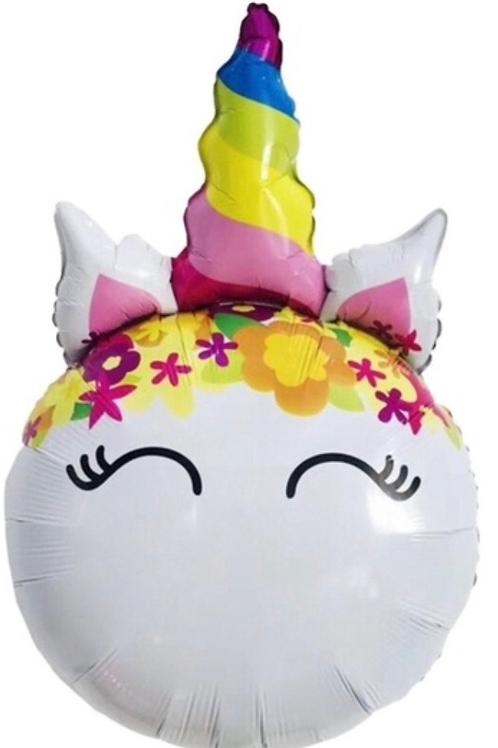 Unicorn face balloon