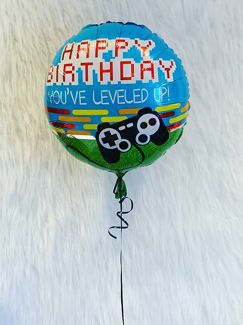 "Game on 18"" foil balloon"