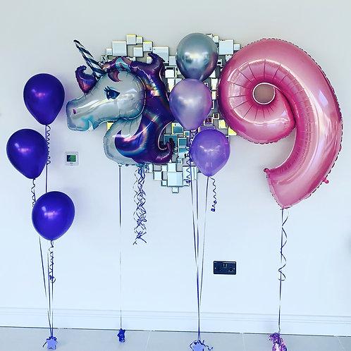 Unicorn Birthday Display