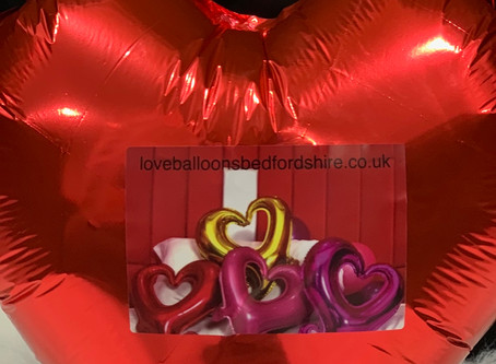 Valentine's Balloons Delivered Uk