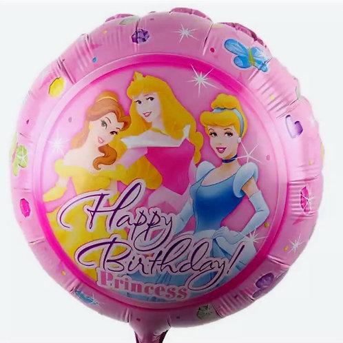 Princess Happy Birthday Balloon