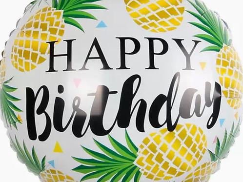 Pineapple Happy Birthday