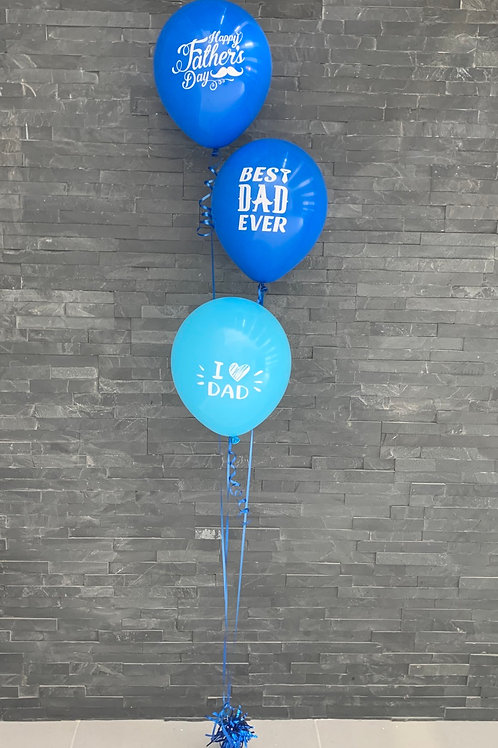 Fathers Day latex balloon bouquet