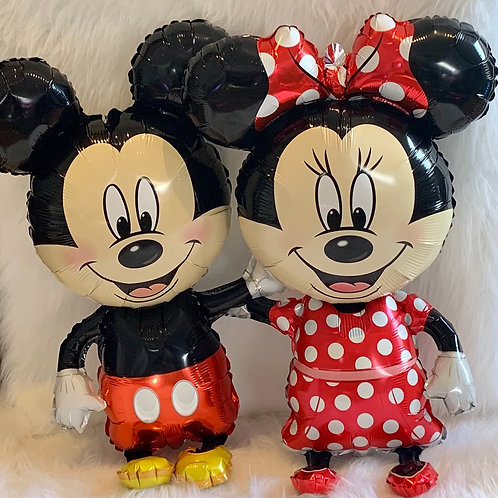 Minnie & Mickey Mouse life size Balloon
