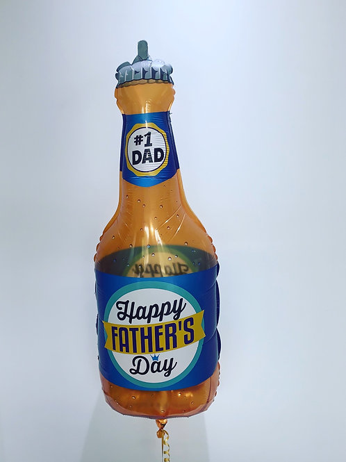 Fathers Day Beer Bottle Balloon