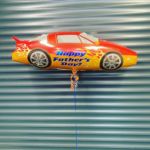 """Happy Fathers Day 41"""" car balloon"""
