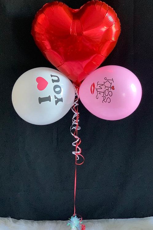Kiss Me Balloon Display