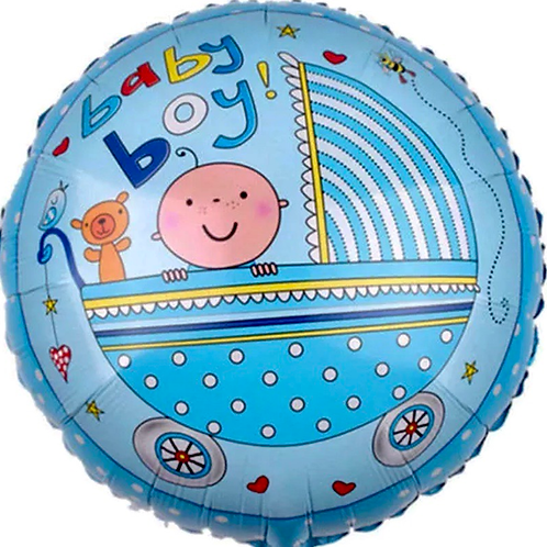 Baby boy pram Balloon