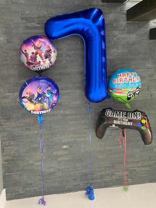 Fortnite Gaming Foil inflated Displays