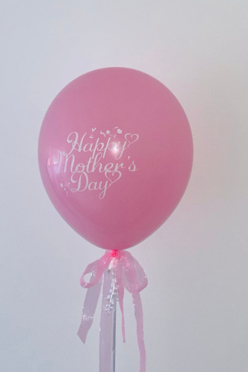 Happy Mother's Day Pink Balloon
