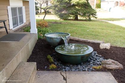Fountain scape