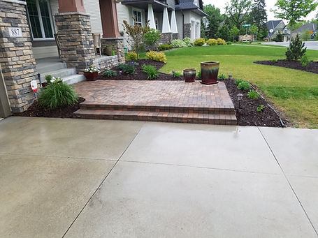 Paver patio, Hastings MN