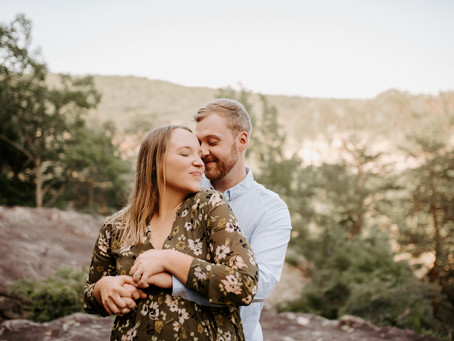 Cloudland Canyon Engagement Session