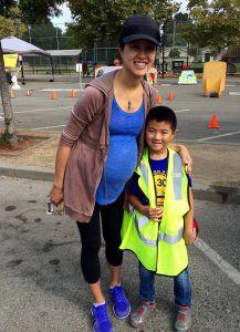GTLA bike day mom and kid