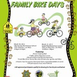 Family Bike Days and Used Bike Drive