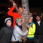 The Winter Solstice Night Bike Ride Success.