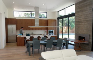 Kitchen with Sean Misskelley in the background