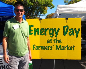 GreenTown Energy Day at the Farmer's Market