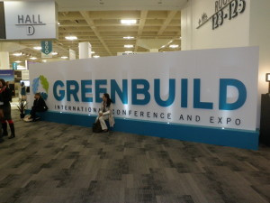 Visit to the GreenBuild Show in San Francisco