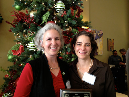Margie Suozzo Receives Recognition as Outstanding Volunteer