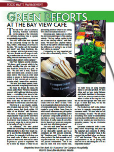 Epicurean Group & GreenTown Los Altos Business Co-Op featured in On-Campus Hospitality