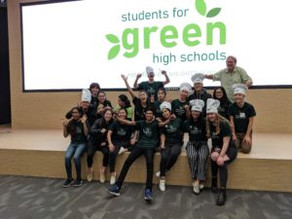 How Students for Green High Schools Amazed Us!