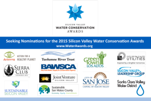2015 Silicon Valley Water Awards Are On!