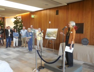 Susan Orr hopes that the Packard Foundation's ratings are left in the dust by future LEED buildings.