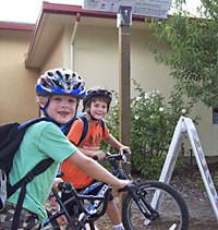 GreenTown's Bike/Walk to School Program: Spotlight Almond Elementary
