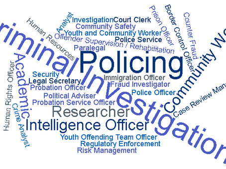 What are the career options with a postgraduate certificate in policing?