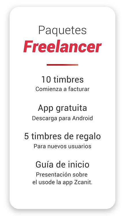 Paquete Freelancer