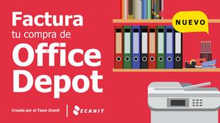 Factura tu ticket de Office Depot