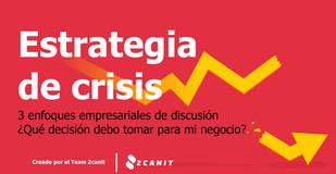 Estrategia de crisis: 3 enfoques de discusión ¿Qué decisión debo tomar para mi negocio? 😰😱
