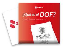que es el diario oficial de la federacion DOF