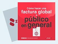 Cómo hacer una factura global o a público en general