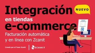 Integración en e-commerce: Facturación en línea y automática con Zcanit