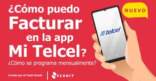 Cómo facturar en Mi Telcel y ¿Cómo puedo descargar mi factura desde la app Mi Telcel o sitio Web?