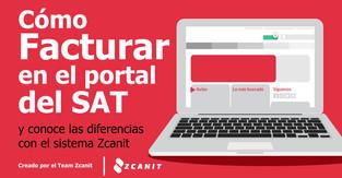 Facturación en línea en la plataforma del SAT paso a paso y qué diferencias tiene el sistema Zcanit