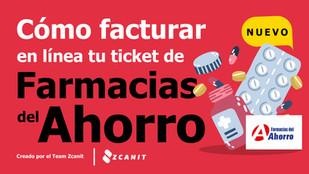 Factura Farmacias del Ahorro ¿Cómo se factura en línea?