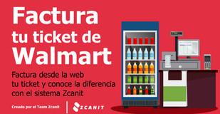 Facturación en línea Walmart paso a paso y las diferencias con el sistema Zcanit en este 2020