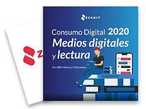 consumo digital 2020 medios digitales y lectura