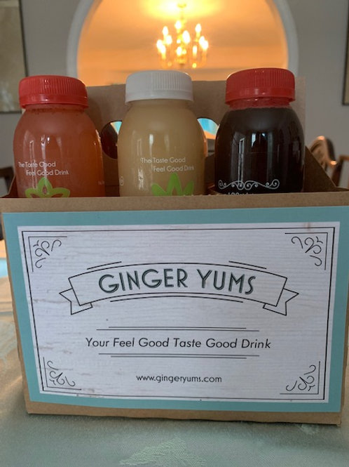 Ginger Yums  (6 PACK)