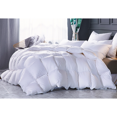 Natural White Goose Down Duvet - Double