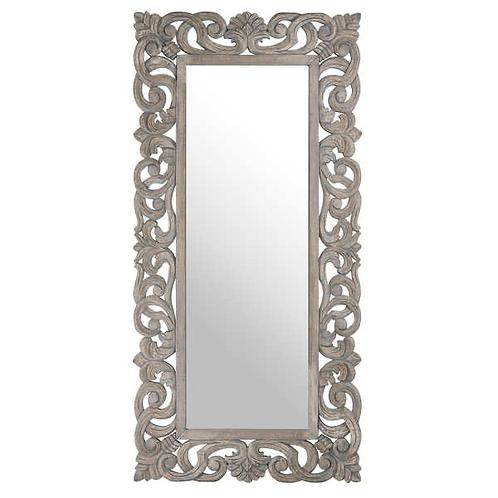 Elegant hand carved mirror