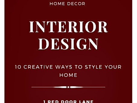 10 creative interior design secrets