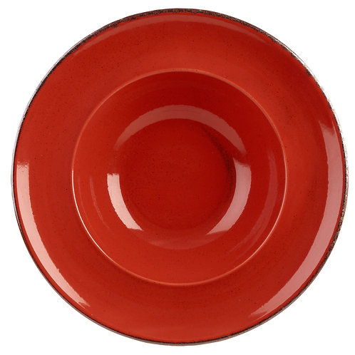 RED PASTA PLATE