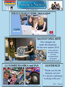 Percia's News - OCTOBER